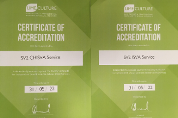 We're accredited! feed image